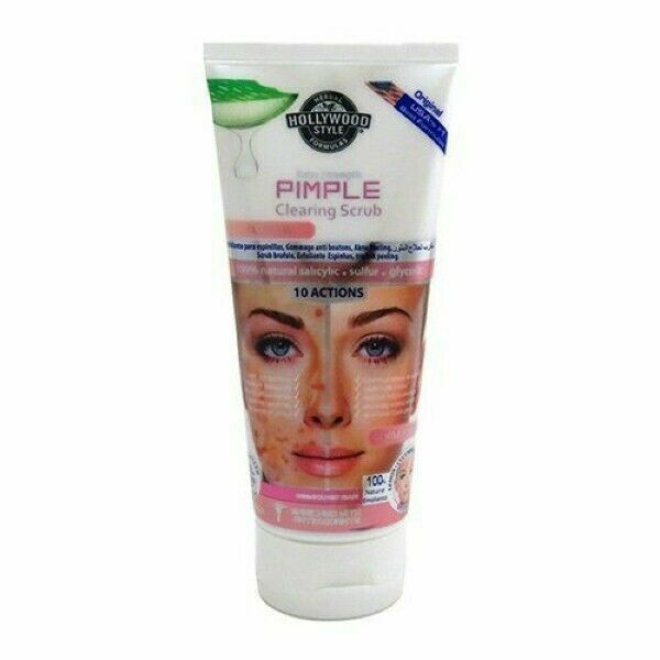 Hollywood Style Pimple Clearing Scrub