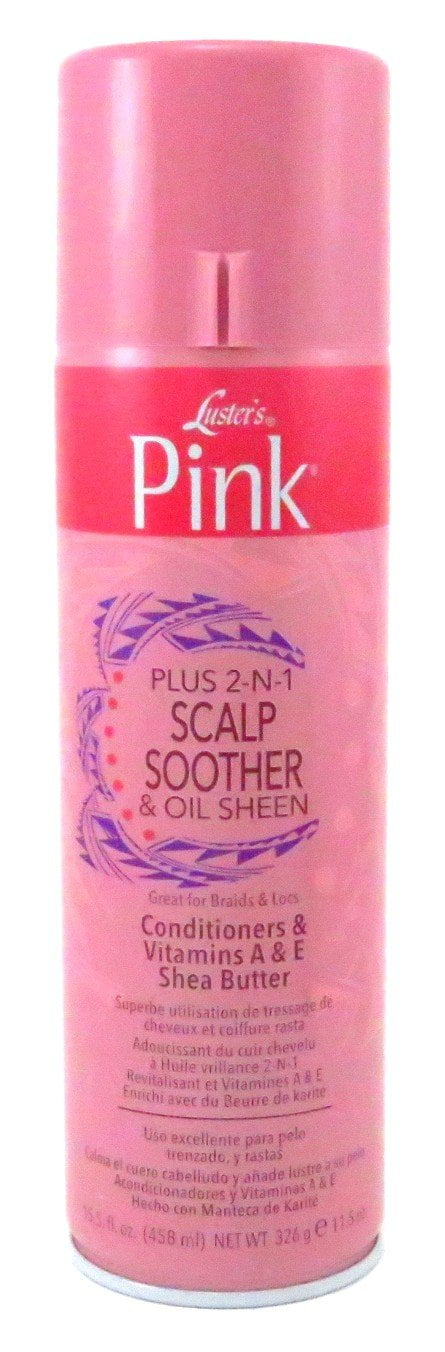 Lusters Pink Scalp Soother & Oil Sheen Spray