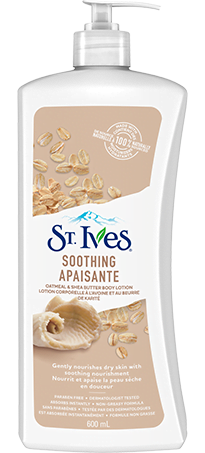SOOTHING OATMEAL & SHEA BUTTER BODY LOTION
