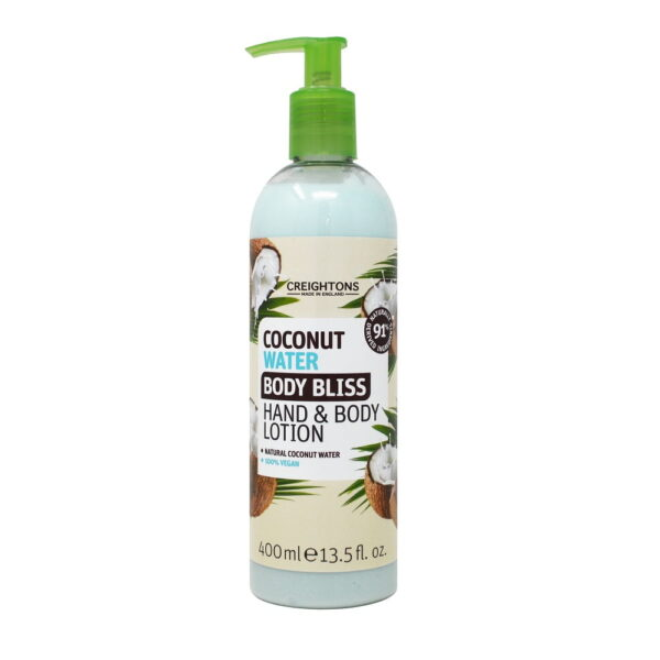 creightons coconut body bliss hand and body lotion