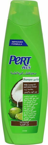 Pert Plus Shampoo with Coconut Oil and Lemon Extract